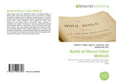 Обложка Battle of Mount Tabor (Biblical)
