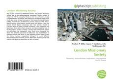 Couverture de London Missionary Society