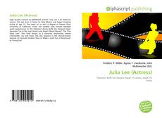 Portada del libro de Julia Lee (Actress)