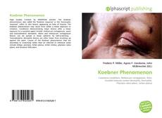Bookcover of Koebner Phenomenon