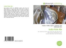 Bookcover of India Pale Ale