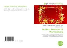 Bookcover of Duchess Frederica of Württemberg