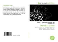 Borítókép a  Dorothea Lieven - hoz