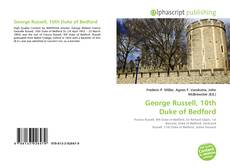 Portada del libro de George Russell, 10th Duke of Bedford