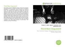 Portada del libro de Third Man Argument