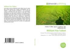 Capa do livro de William Fox Talbot