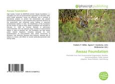 Capa do livro de Awaaz Foundation