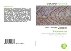 Capa do livro de Alamosaurus