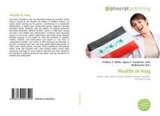 Portada del libro de Health in Iraq