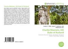 Capa do livro de Charles Manners, 6th Duke of Rutland