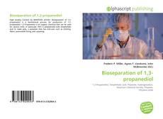 Copertina di Bioseparation of 1,3-propanediol
