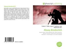 Bookcover of Alexey Brodovitch