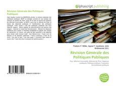 Portada del libro de Révision Générale des Politiques Publiques