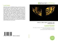 Bookcover of Lucie Favier
