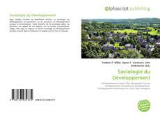 Sociologie du Développement kitap kapağı