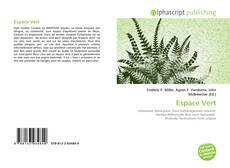 Buchcover von Espace Vert