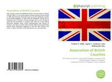 Association of British Counties kitap kapağı