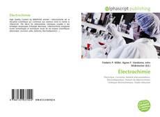 Couverture de Électrochimie