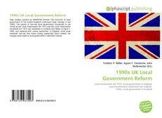 Bookcover of 1990s UK Local Government Reform