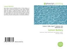 Bookcover of Lemon Battery