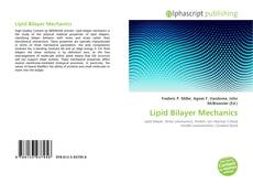 Lipid Bilayer Mechanics kitap kapağı