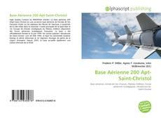 Base Aérienne 200 Apt-Saint-Christol的封面