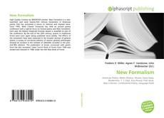 Bookcover of New Formalism