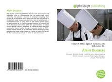 Обложка Alain Ducasse