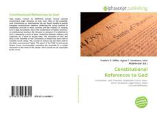 Couverture de Constitutional References to God