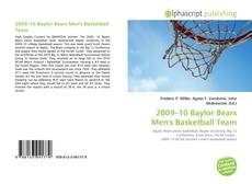 Bookcover of 2009–10 Baylor Bears Men's Basketball Team