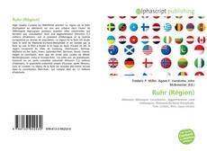 Buchcover von Ruhr (Région)