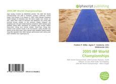 2005 IBF World Championships的封面