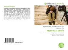 Bookcover of Menstrual taboo
