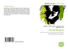 Couverture de Ernest Burgess