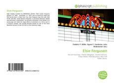 Bookcover of Elsie Ferguson