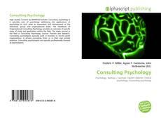 Portada del libro de Consulting Psychology