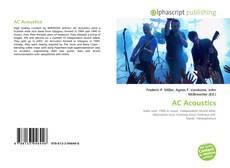 Bookcover of AC Acoustics