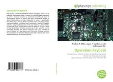 Capa do livro de Operation Payback