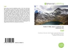 Bookcover of Fell