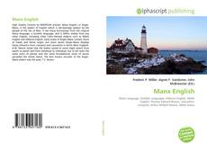 Bookcover of Manx English