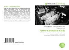 Capa do livro de Arthur Constantin Krebs