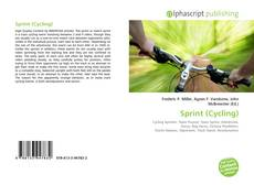 Bookcover of Sprint (Cycling)