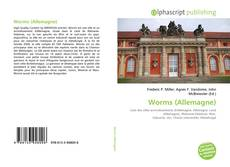 Обложка Worms (Allemagne)