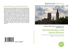 Portada del libro de Bertram Bowyer, 2nd Baron Denham