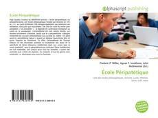 Bookcover of École Péripatétique