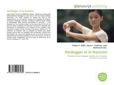Bookcover of Heidegger et le Nazisme