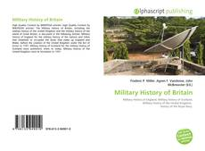 Bookcover of Military History of Britain