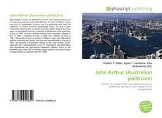 Обложка John Arthur (Australian politician)