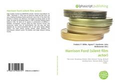 Bookcover of Harrison Ford (silent film actor)