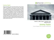 Bookcover of Jeremy Taylor